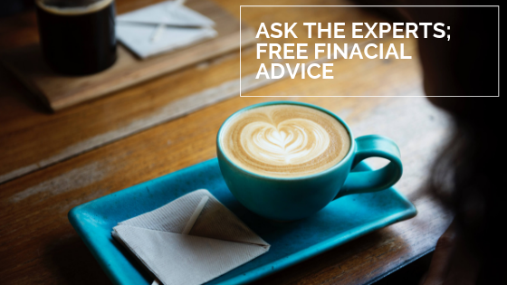 Ask The Experts; free finacial advice