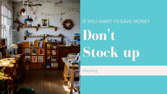 節約したいならまとめ買いはやめるべき