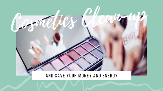 Cosmetics Cleaning-up