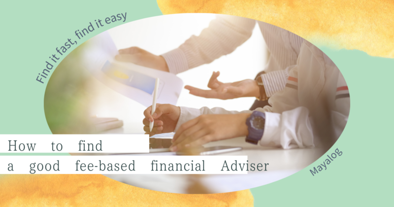 find a free based finacial adviser